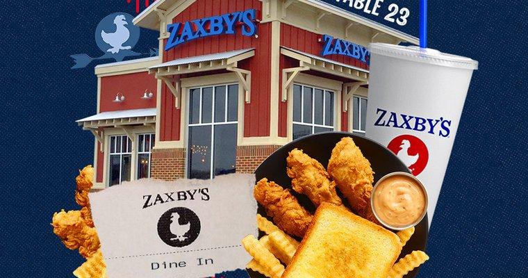 ZAXBYS MENU With PRICES 2021